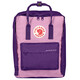 Fjällräven Save the Arctic Fox Kånken Zaino rosa/viola